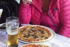 3.Pizza, prvni vecere