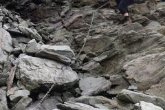 3.Sestup od Cabane de Moiry 2825m