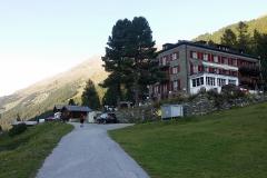 20.Gruben, hotel Schwarzhorn 1825m - 8nocleh