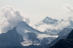 8.Tam v mlze Matterhorn